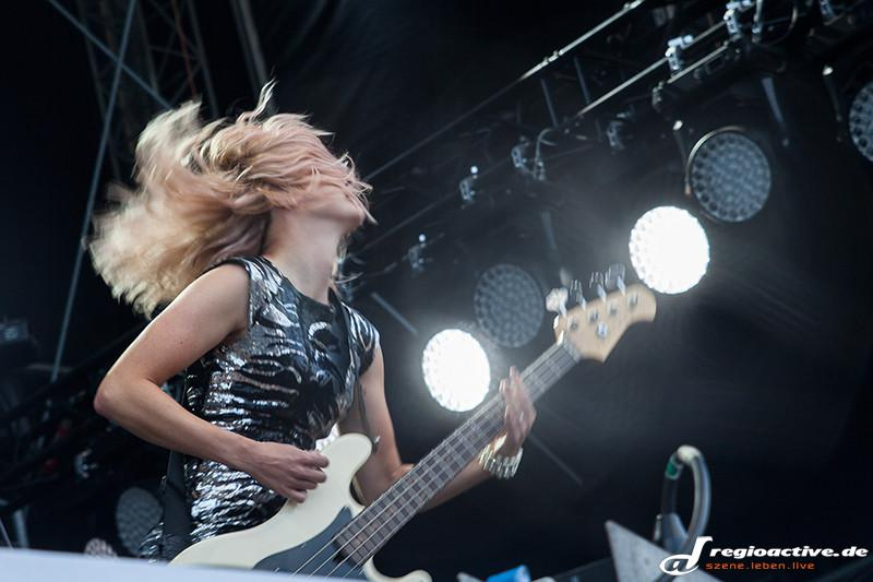 The Subways (live bei Das Fest, 2015)